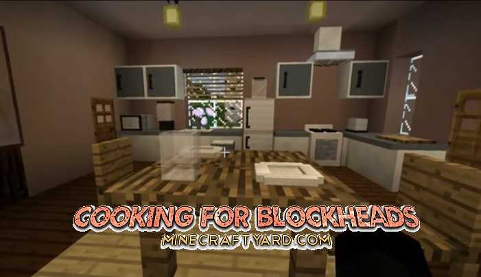 Cooking for Blockheads Mod 1.12.2/1.12.1/1.11.2