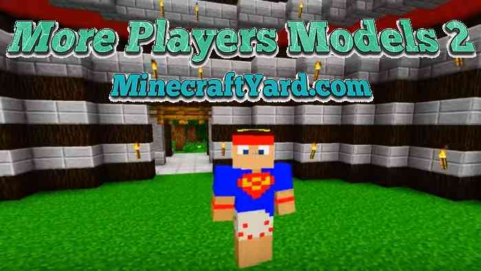 More Player Models 2 Mod 1.10.2/1.9.4