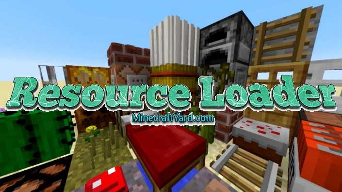 Resource Loader Mod 1.11/1.10.2/1.9.4