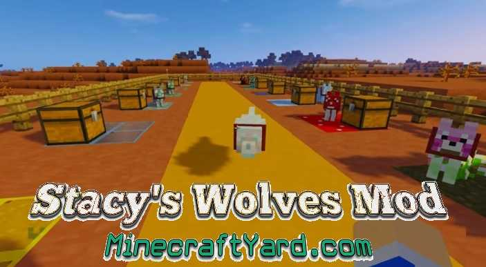 Stacy's Wolves Mod 1.12.1/1.11.2
