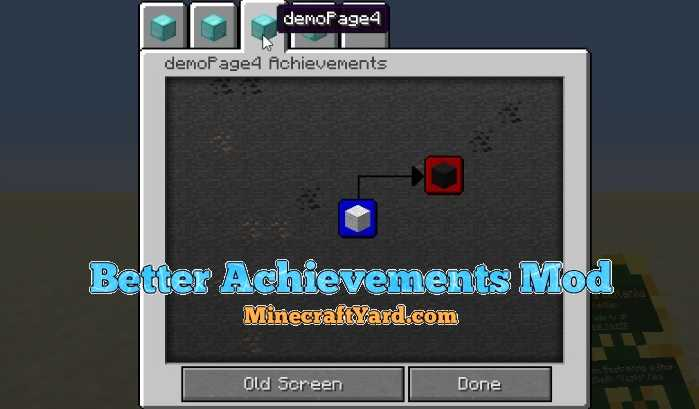 Better Achievements Mod 1.12.2/1.12.1/1.11.2