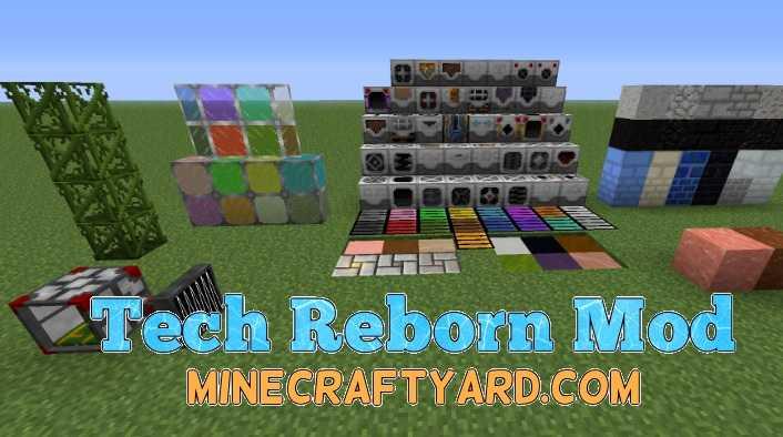 Tech Reborn Mod 1.11.2/1.11/1.10.2