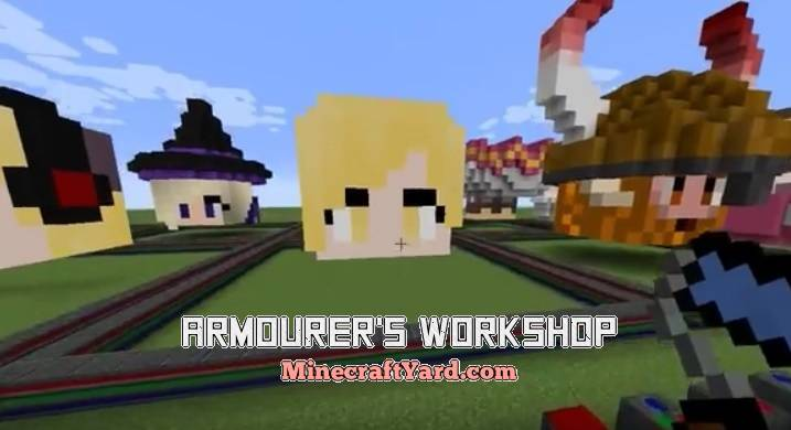Armourer's Workshop 1.13.1/1.13/1.12.2/1.11.2