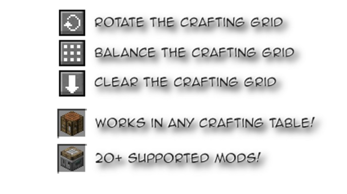 Crafting Tweaks Mod 1.11.2/1.11/1.10.2