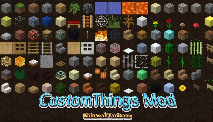 CustomThings Mod 1.11.2/1.10.2