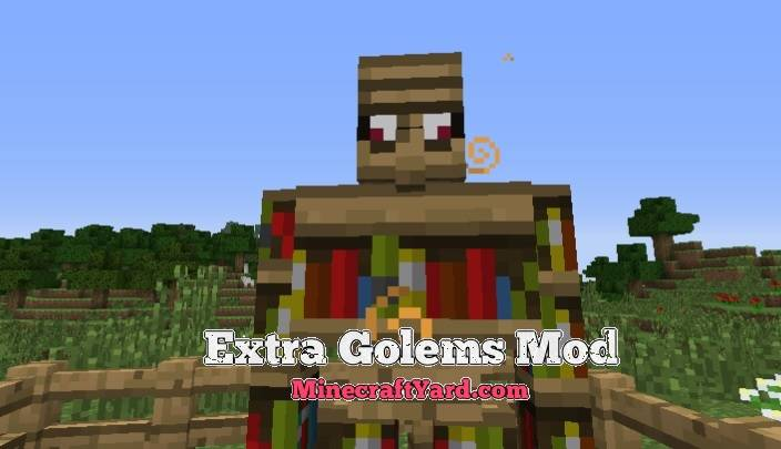 Extra Golems Mod 1.14/1.13.2/1.12.2/1.11.2