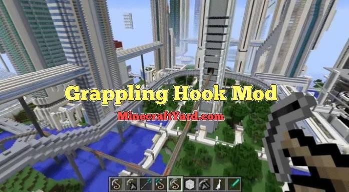 Grappling Hook 1.14/1.13.2/1.12.2/1.11.2