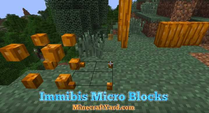 Immibis Micro Blocks Mod 1.11.2/1.10.2