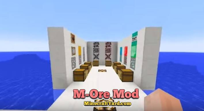M-Ore Mod 1.11/1.10.2/1.9.4