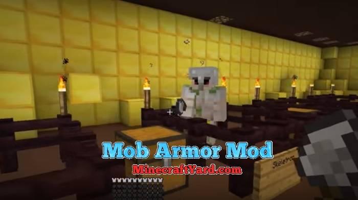 Mob Armor Mod 1.13.1/1.13/1.12.2/1.11.2