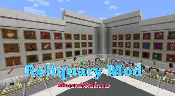 Reliquary Mod 1.13.1/1.13/1.12.2/1.11.2