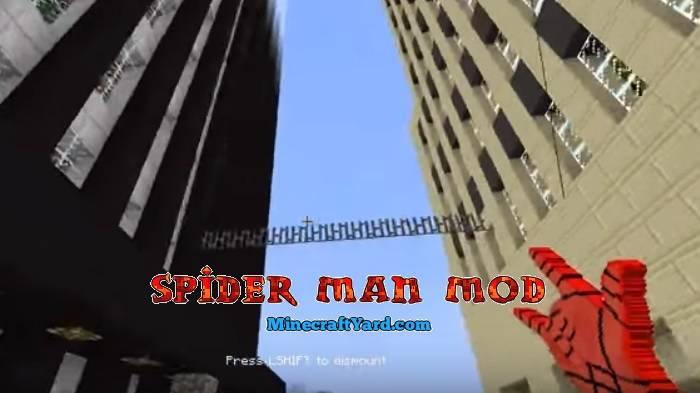 Spider Man Mod 1.13.1/1.13/1.12.2/1.11.2