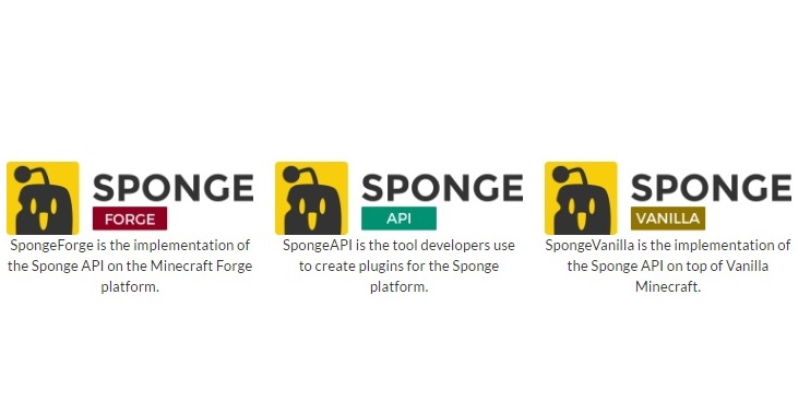Sponge Forge API Vanilla