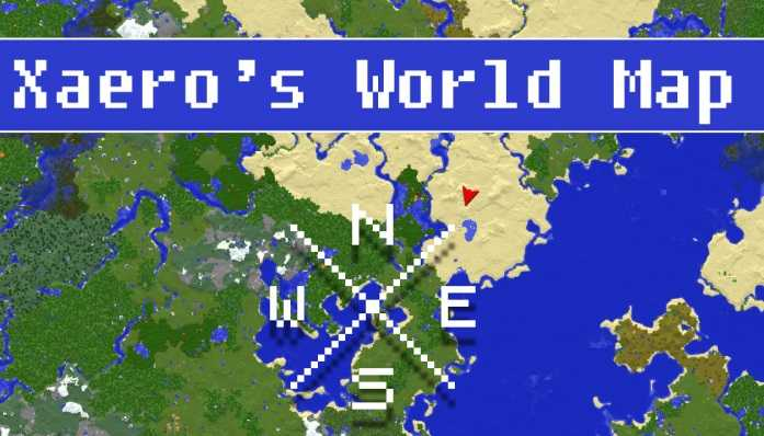 Xaero's World Map 1