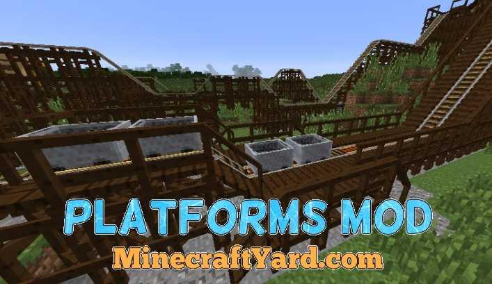 Platforms Mod 1.12.2/1.12.1/1.11.2