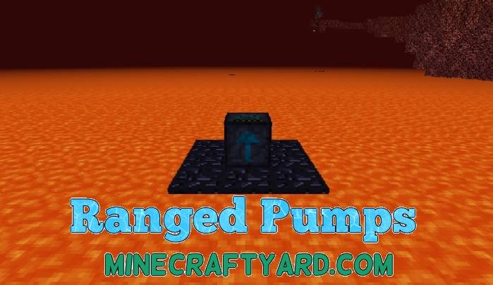 Ranged Pumps Mod 1.11.2/1.11/1.10.2