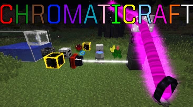 ChromatiCraft Mod 1.11.2/1.10.2/1.9.4