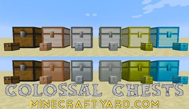 Colossal Chests 1.10.2/1.9.4