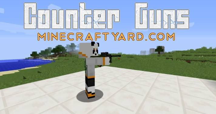 Counter Guns Mod 1.12.2/1.12.1/1.11.2
