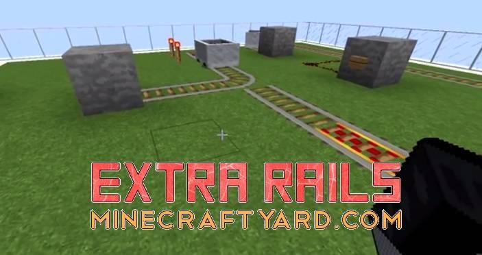 Extra Rails Mod 1.13.1/1.13/1.12.2/1.11.2