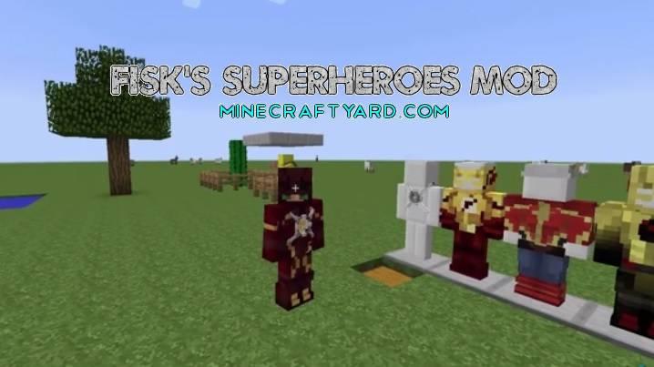 Fisk's Superheroes Mod 1.13.1/1.13/1.12.2/1.11.2