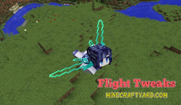 FlightTweaks Mod 1.12.2/1.12.1/1.11.2