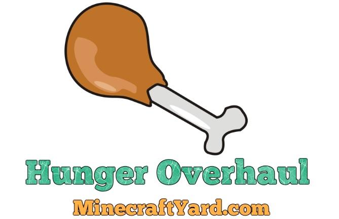 Hunger Overhaul Mod 1.10.2/1.9.4