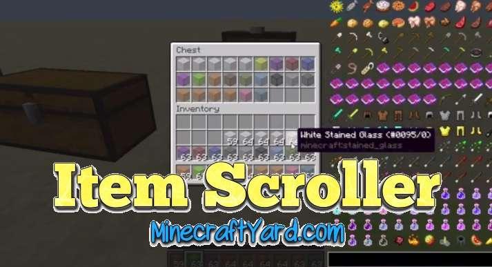 Item Scroller Mod 1.11.2/1.11/1.10.2