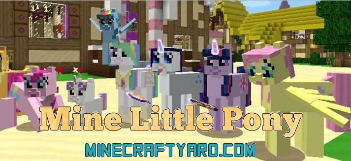 Mine Little Pony Mod 1.12.2/1.12.1/1.11.2