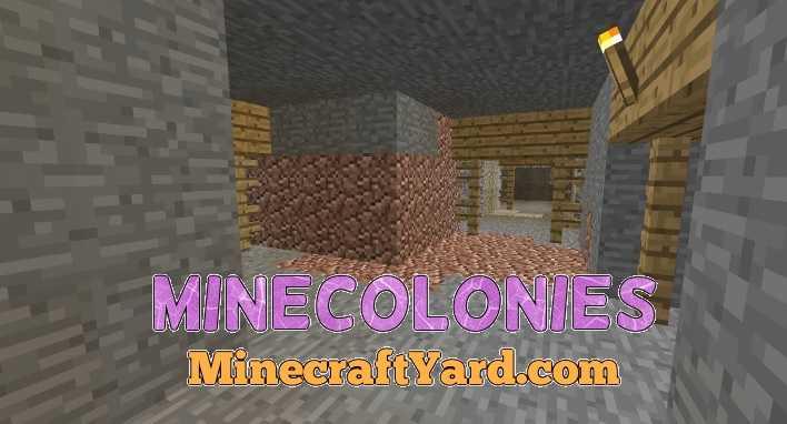 Minecolonies 1.10.2/1.9.4/1.8.9