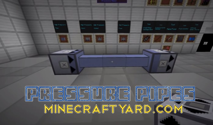 Pressure Pipes Mod 1.10.2/1.9.4
