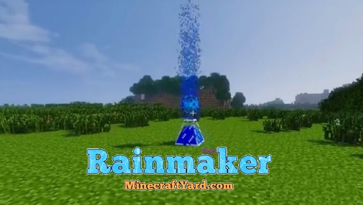 Rainmaker Mod 1.12.2/1.12.1/1.11.2