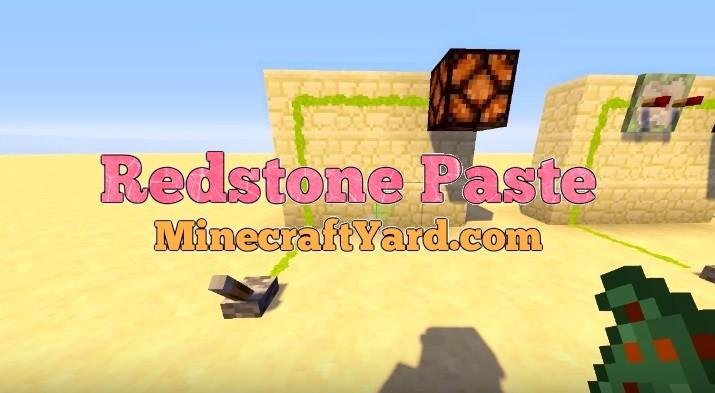 Redstone Paste Mod 1.13.1/1.13/1.12.2/1.11.2