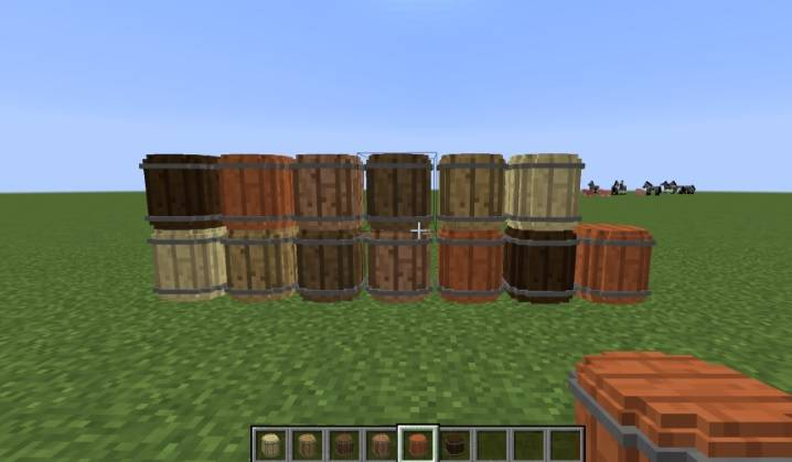 Simple Barrels Mod