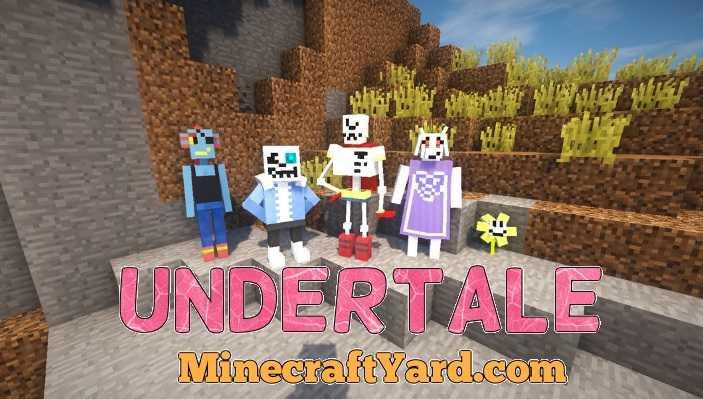 UnderTale Mod 1.12.1/1.11.2