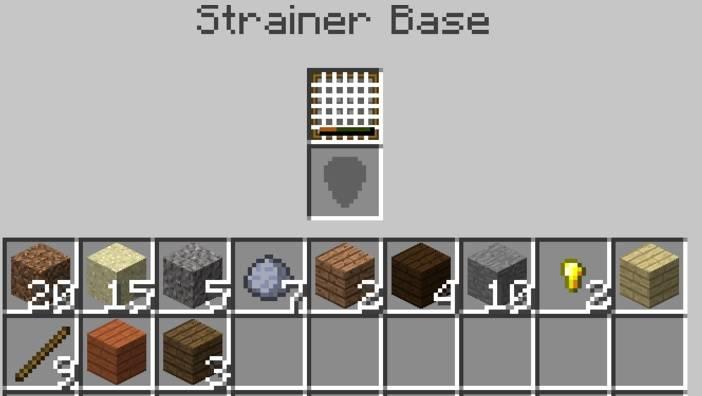 Water Strainer Mod 4
