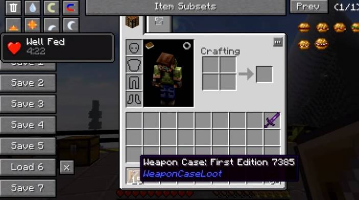 Weapon Case Loot Mod