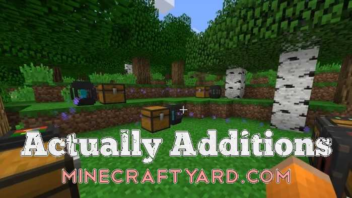 Actually Additions 1.12/1.11.2
