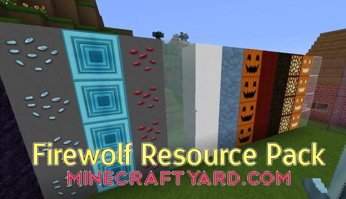 Firewolf Resource Pack 1.11.1/1.11/1.10.2