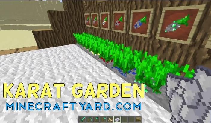 Karat Garden Mod 1.11.2/1.11/1.10.2
