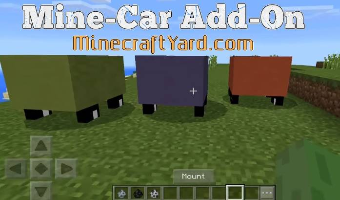 Mine-Car Add-on MCPE and Win 10