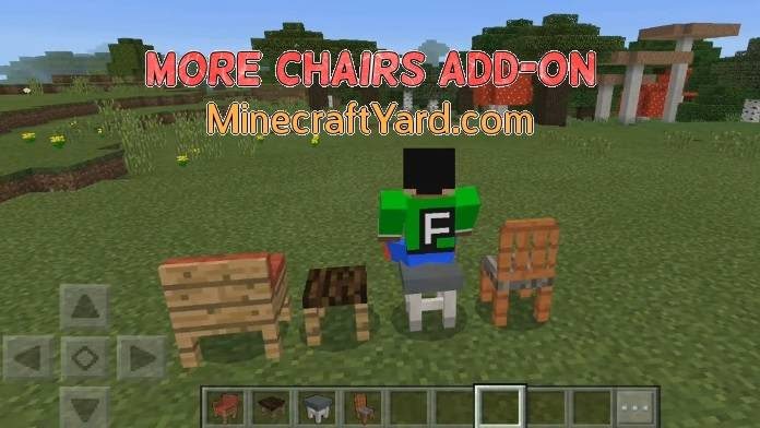 More Chairs Add-on MCPE and Win 10