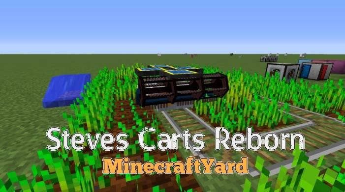 Steves Carts Reborn Mod 1.13.1/1.13/1.12.2/1.11.2