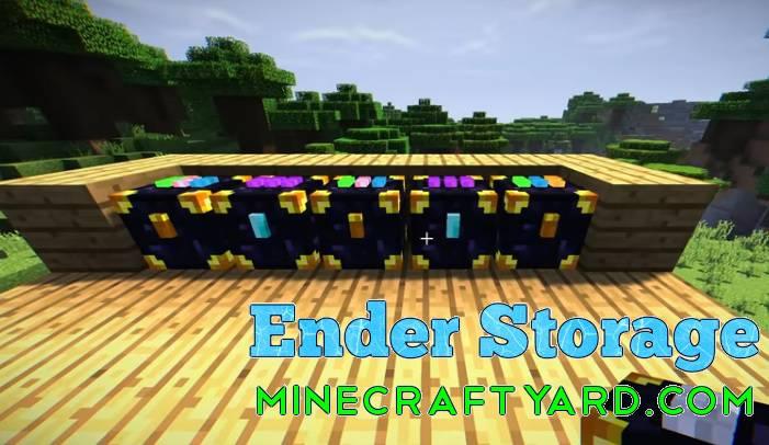 Ender Storage Mod 1.13.1/1.13/1.12.2/1.11.2