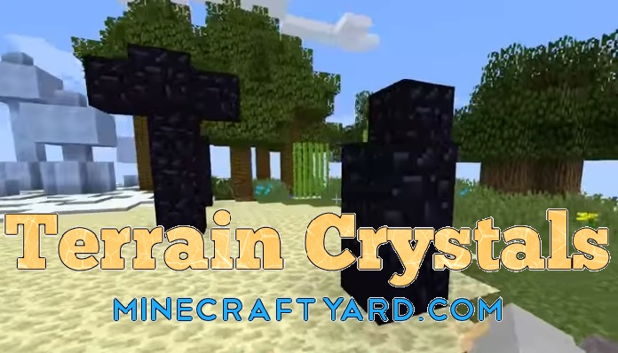 Terrain Crystals Mod 1.13.1/1.13/1.12.2/1.11.2