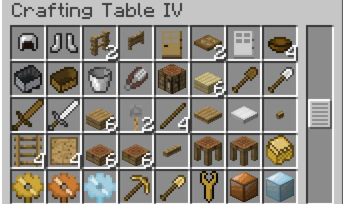 CraftingTable IV 1
