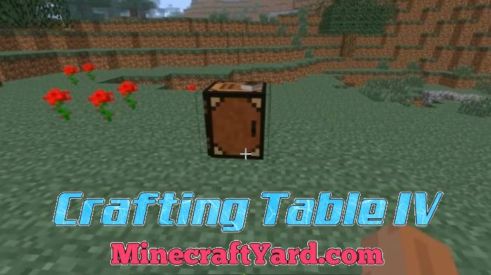 Crafting Table IV 1.11.2/1.10.2