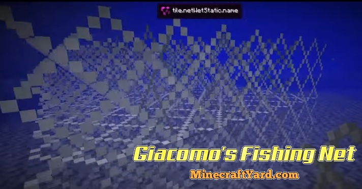 Giacomo's Fishing Net 1.13.1/1.13/1.12.2/1.11.2