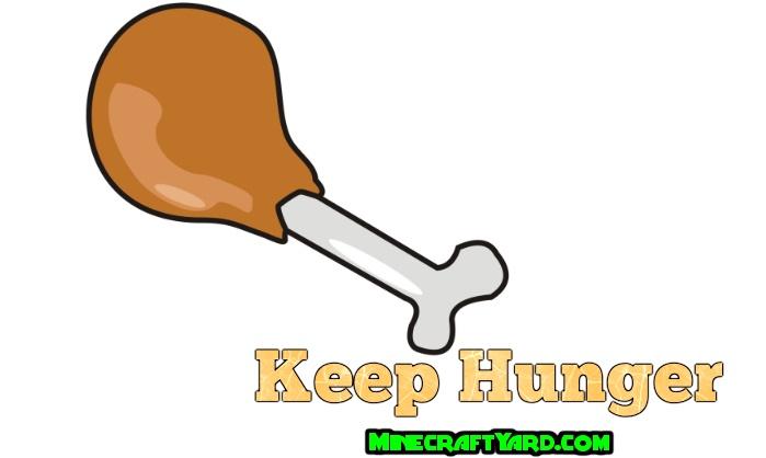 Keep Hunger Mod 1.14/1.13.2/1.12.2/1.11.2
