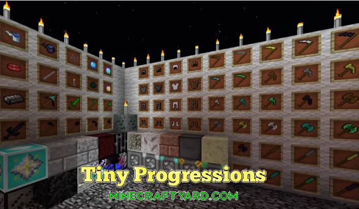 Tiny Progressions Mod 1.12.2/1.12.1/1.11.2